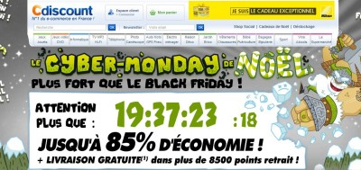 Home Page Cdiscount  CyberMonday2014